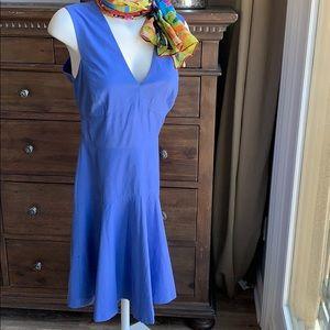 Rebecca Taylor periwinkle midi dress